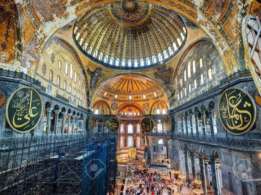 isztambul-gyalogtúrája, Hagia Sophia