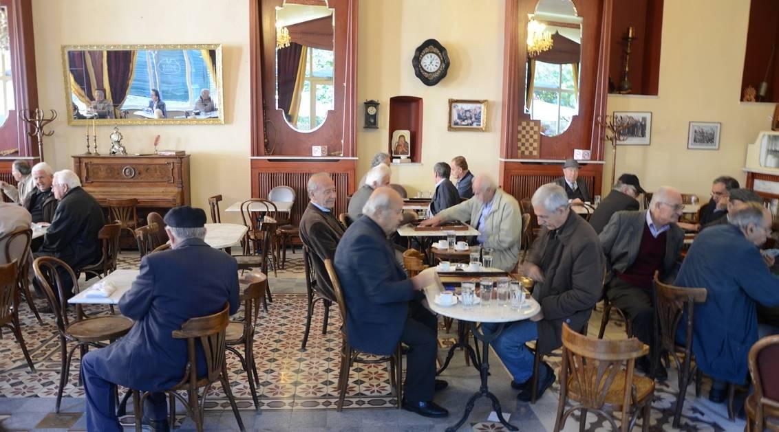 Yunanistan kahvehane