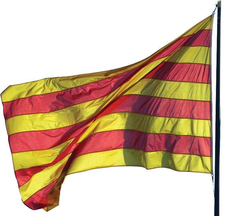 Katalan bayragı, katalonya bayrağı