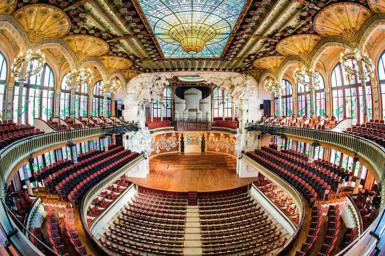 katalan müzik sarayı