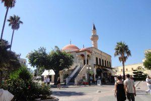 kos adası, osmanlı camisi, defterdar camii