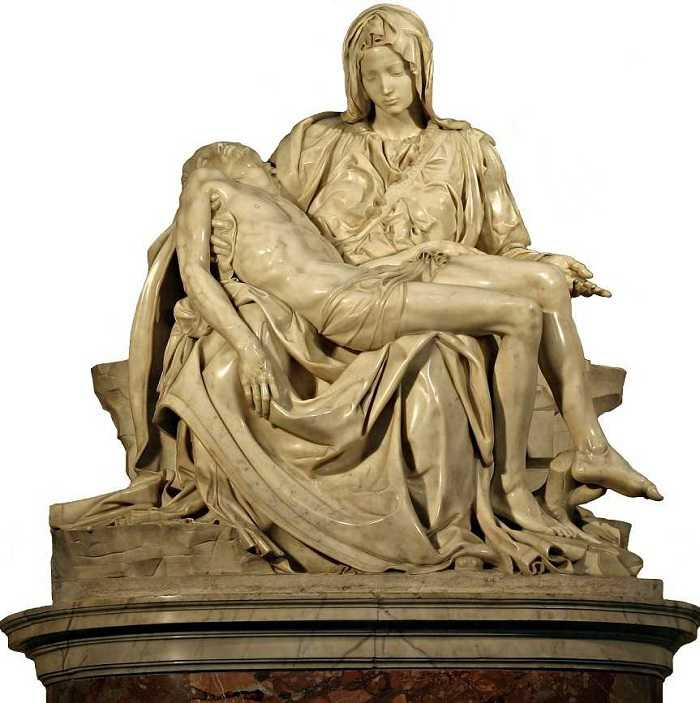vatican sculptures of michelangelo