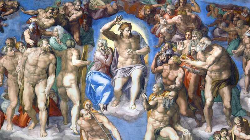 frescos in sistine chapel