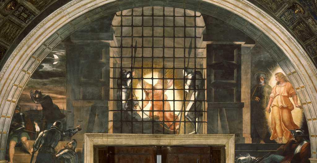 frescoes de rafael en vaticano