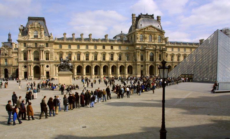 bilhete do museu do Louvre