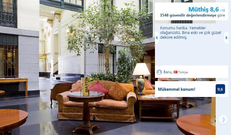 madrid en iyi merkezi otel