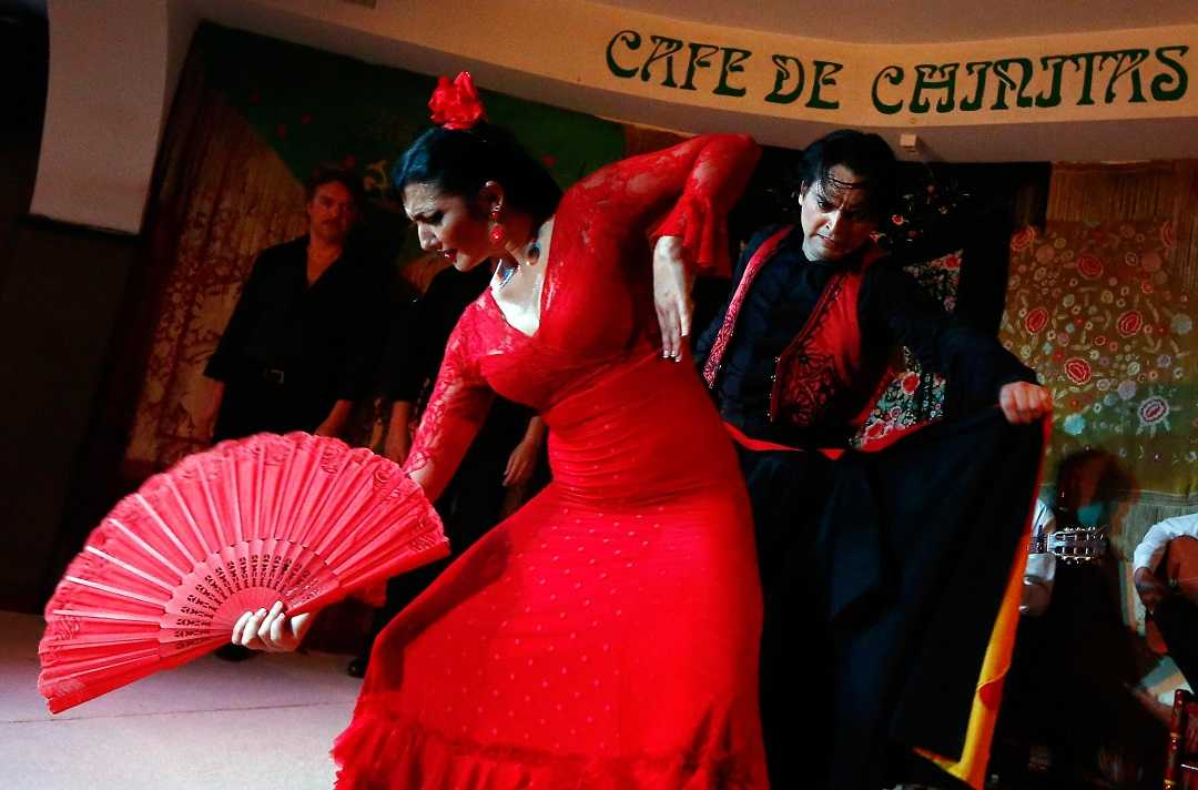 madris flamenko şov, cafe chinitas