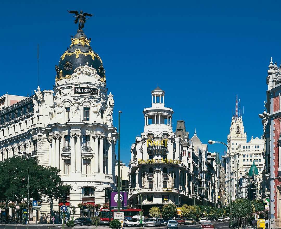 Madrid'de gezilecek yerler, Gran Via