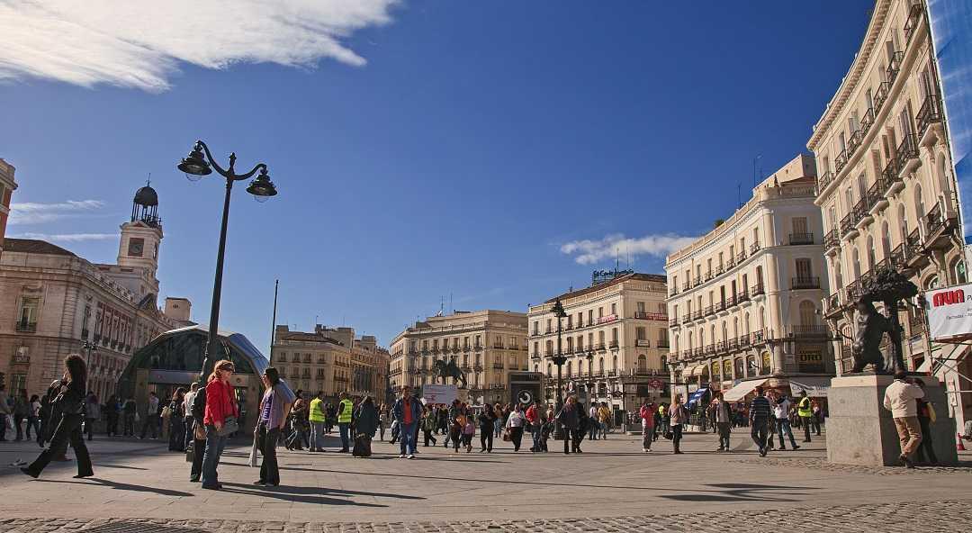 Madrid, puerta del sol, sol meydanı