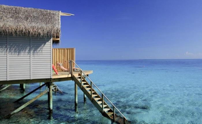 maldivler en güzel bungalovlar