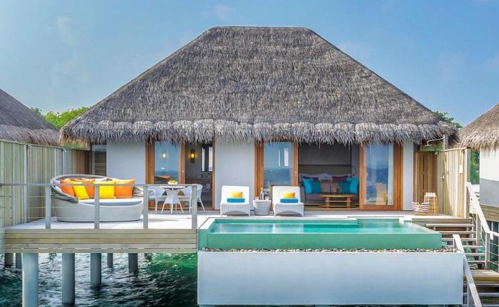 maldivler en güzel su üstü villa