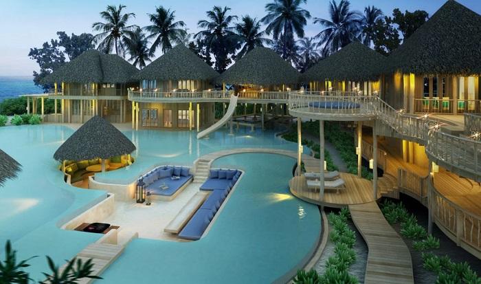 maldivler en lüks oteller