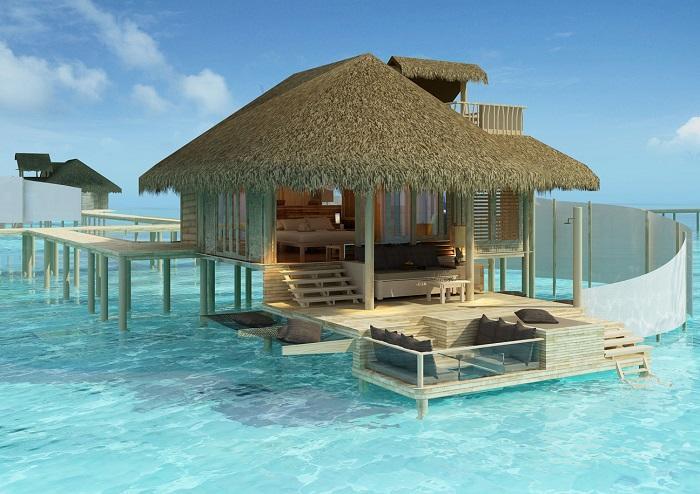 maldivler en pahalı bungalovlar