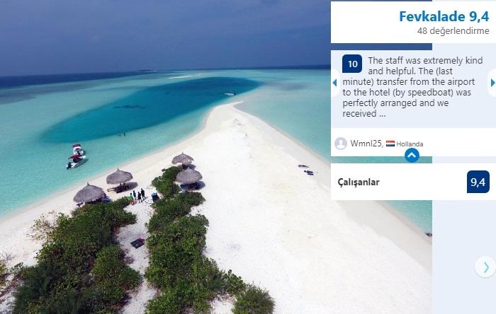 maldivler ucuz oteller