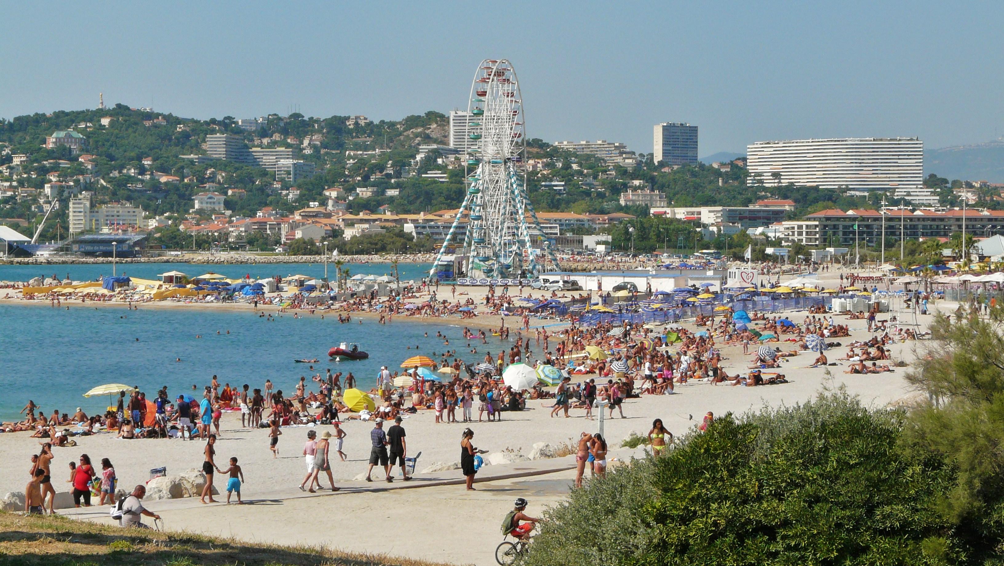 Marsilya plajları