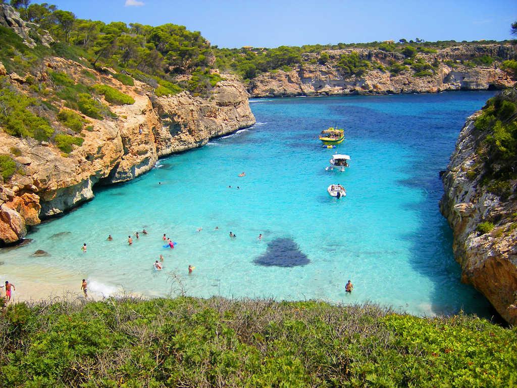 mayorka en güzel plajlar