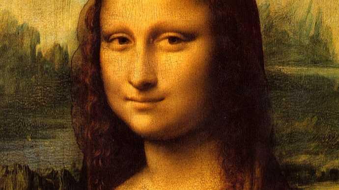"Louvre Müzesi, leonardo da Vinci ""Mona Lisa"" tablosu"
