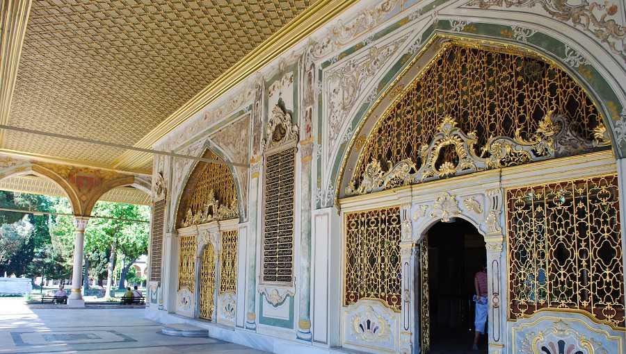 muzeum pałacu Topkapi