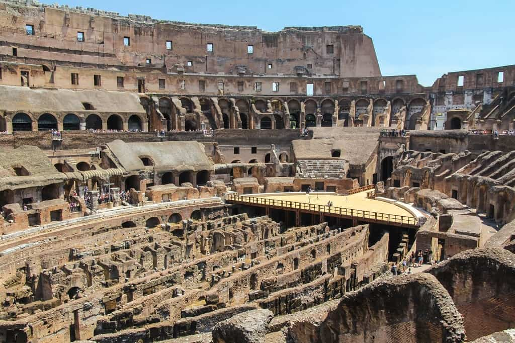 roma'da özel turlar; kolezyum ve roma forumu turları