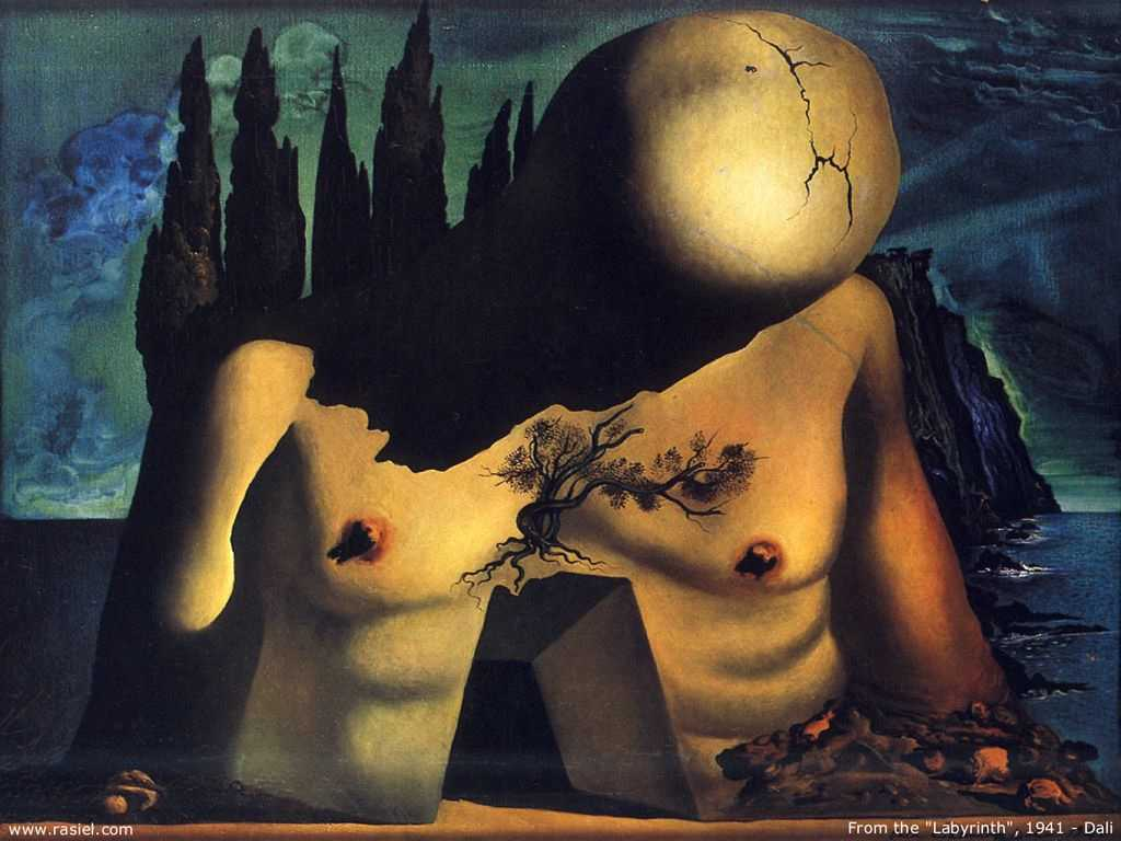 famous paintings in salvador dali museum figueres
