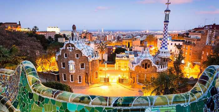 famous houses in park guell