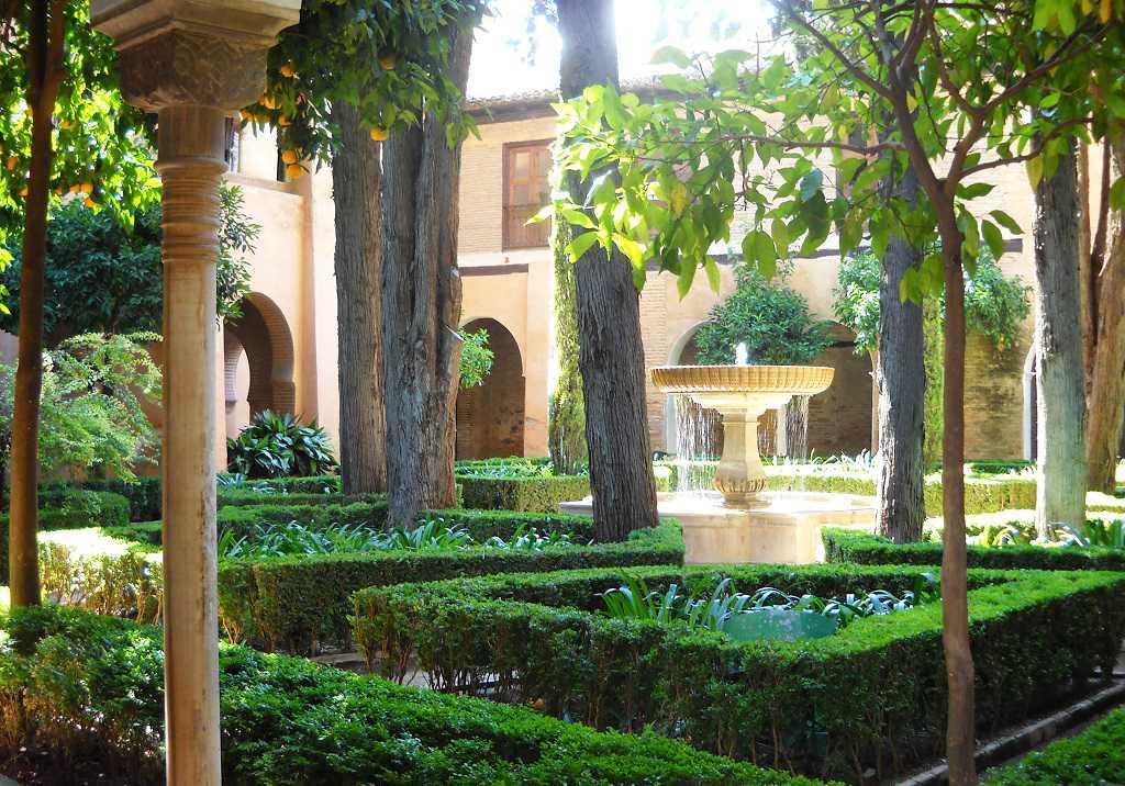 los partes de Alhambra Granada