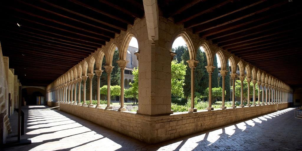 barcelona pedralbes manastırı, les corts, monastery pedralbes, monesterio