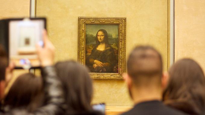 Pinturas Importantes En Museo Louvre; Mona Lisa
