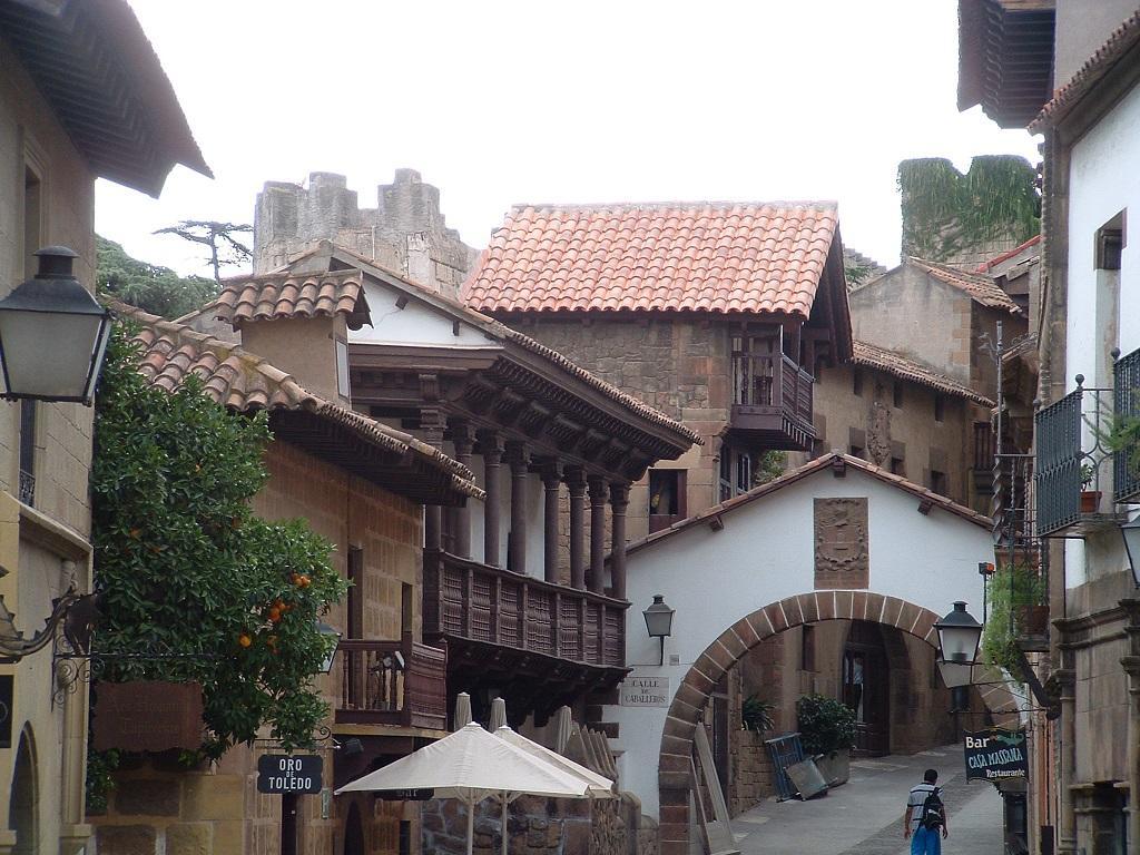 poble-espanyol-barcelona, ispanyol köyü