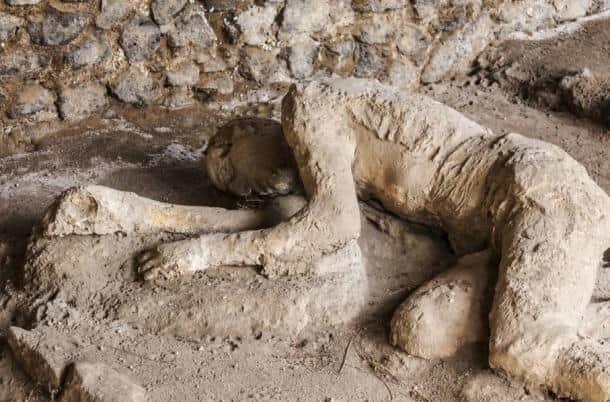 pompei taslasmis insanlar