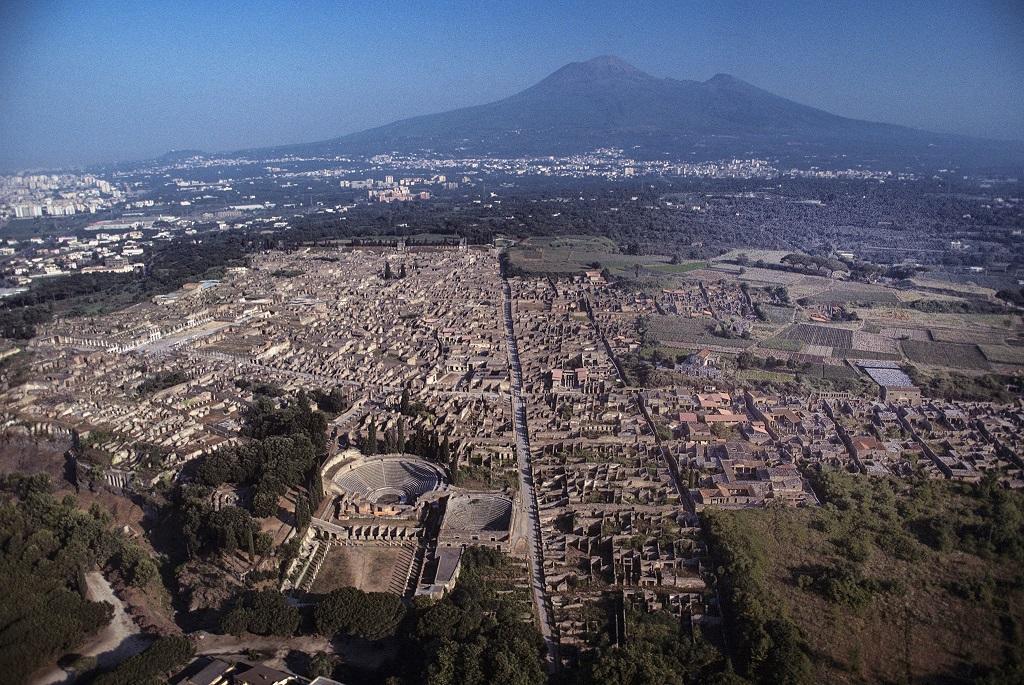 Como Llegar A Pompeya y Napoles desde Roma