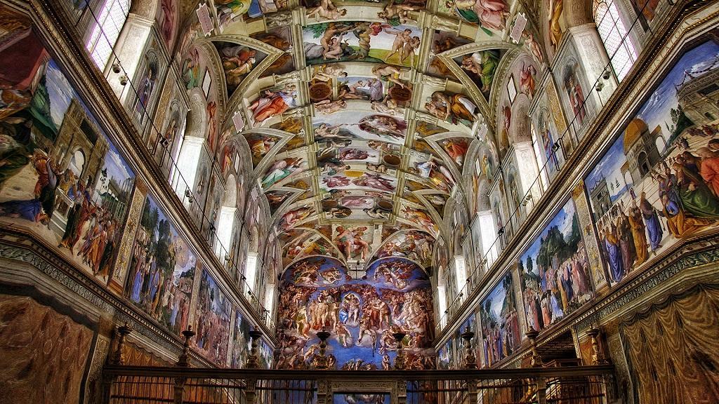 Que ver en Capilla Sixtina Vaticano