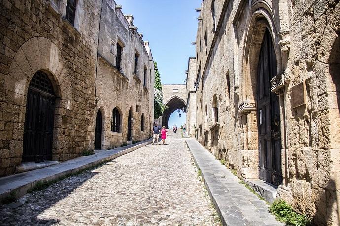rodos eski şehir