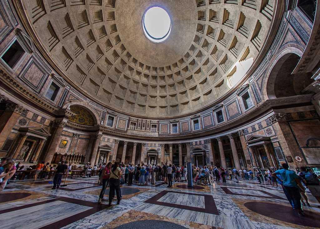 roma gezilecek yerler, panteon