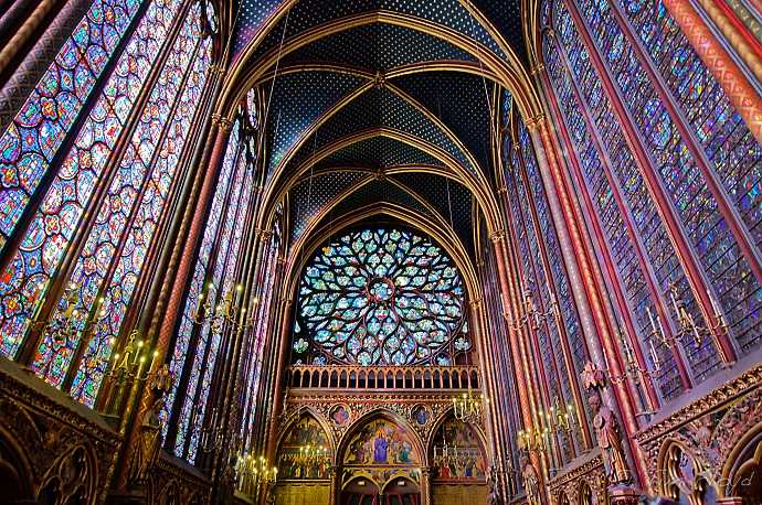 saint chapelle kilisesi paris