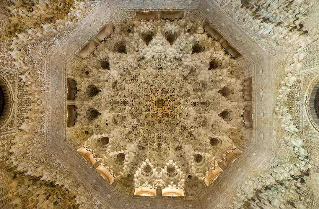 Los salones y palacios importanes de Palacio Alhambra