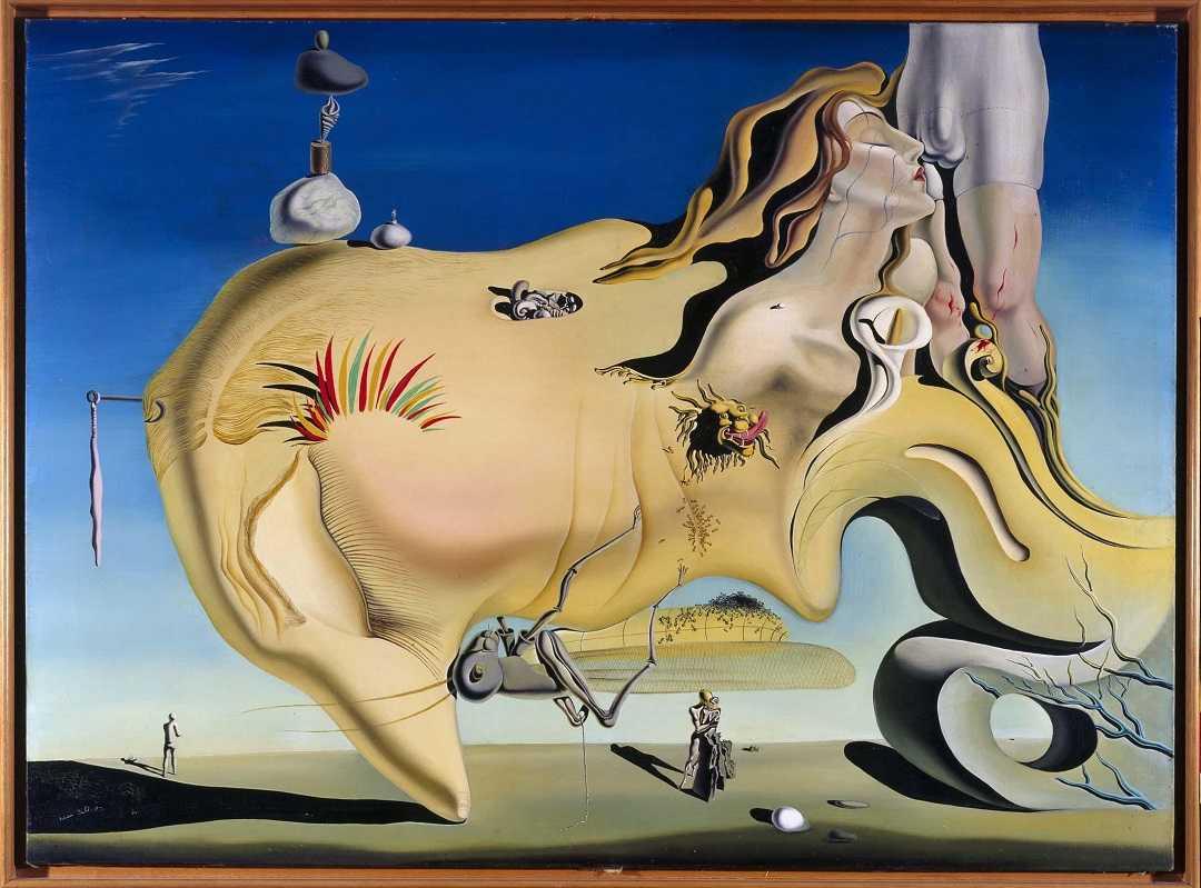Madrid, Reina Sofia, Sanat Eserleri, Salvador Dali