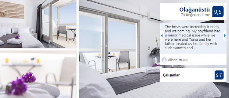 ekonomiska hotell, kostymer med balkong, terrass och havsutsikt