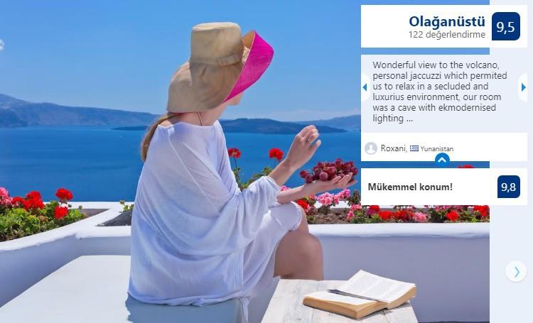 rekommenderat delux smekmånadshotell med pool och kök för par, andronis hotell