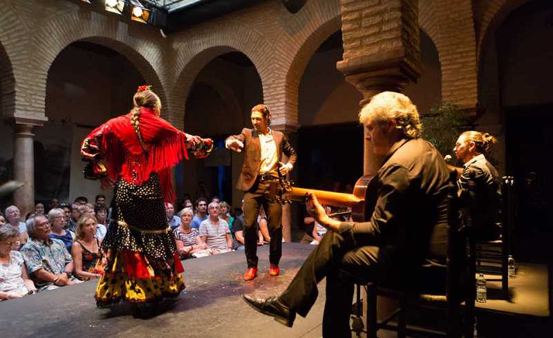 best flamenco show in sevilla