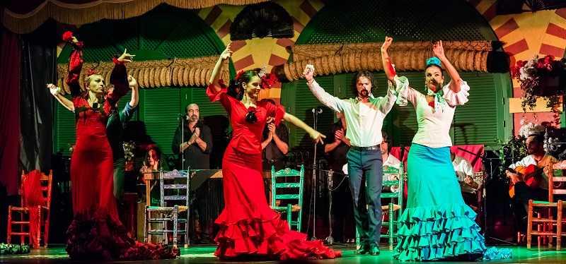 sevilla en iyi flamenko şov