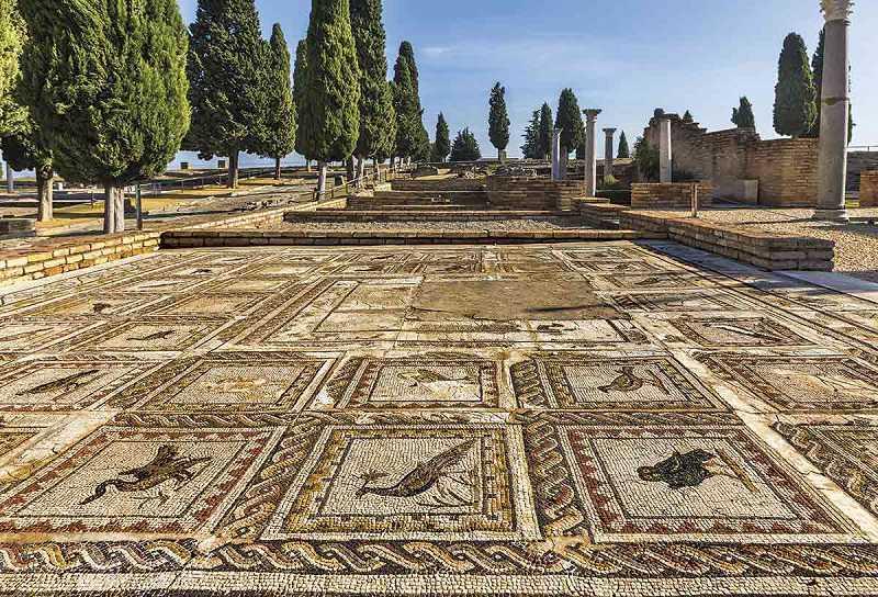 sevilla'nın tarihi, roma şehri italica