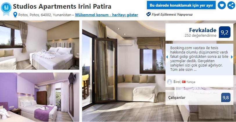 taşoz adası oteller ve apartlar
