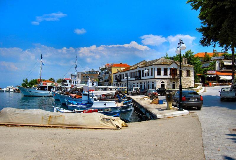 thassos adası merkezi