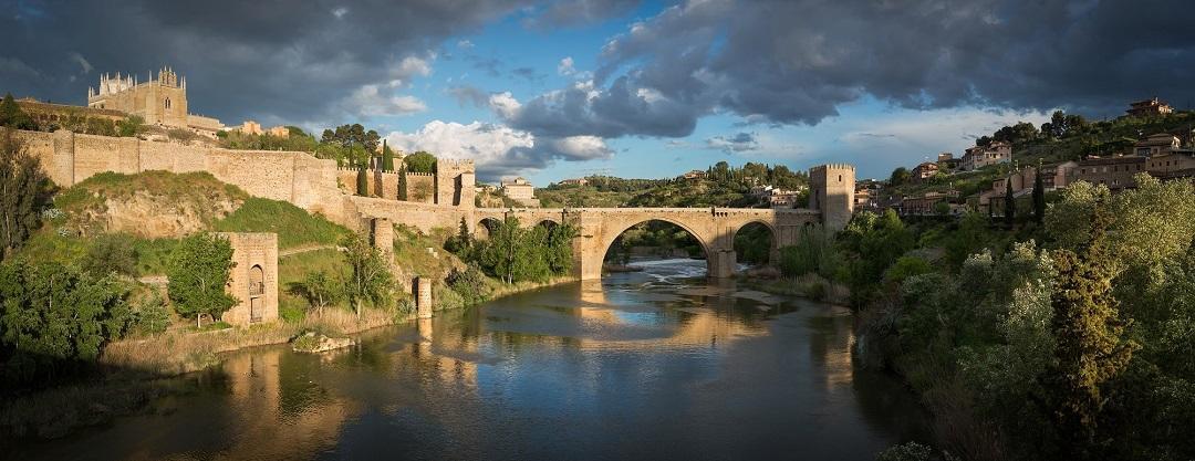 San martin köprüsü, tajo nehri, toledo