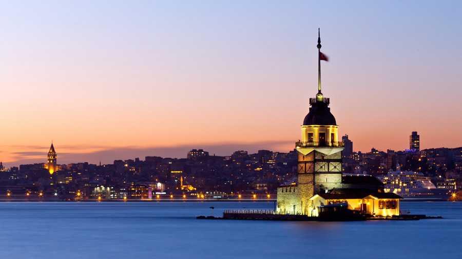 Touriste norte in Istanbul und Antalya