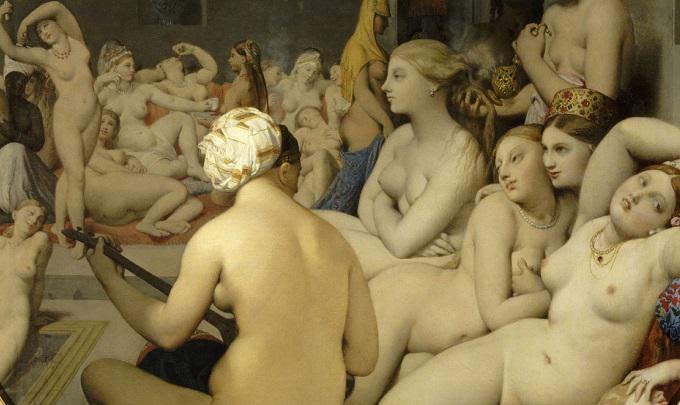 The Turkish Bath / Ingres