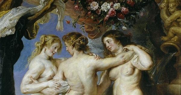 Üç Güzel, Rubens, Madrid, Müze