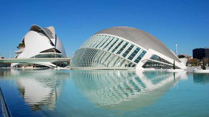 valencia bilim ve sanat şehri
