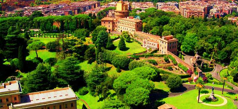 vatican state and gardens